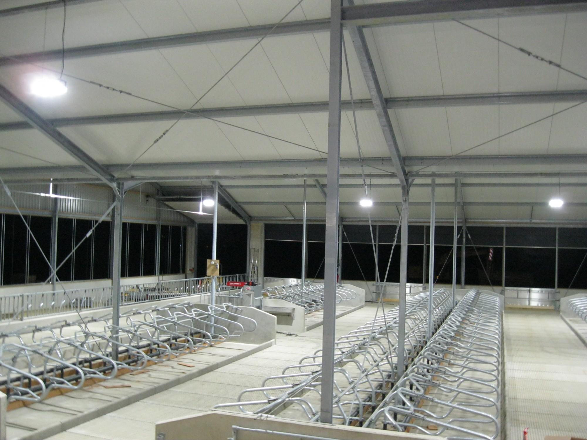 Stal met LED-verlichting 2014 - Verhey Toldijk